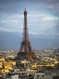 Eiffel Tower 5b Photographic Print by Chris Bliss
