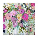 Rose Burst Giclee Print by Carrie Schmitt
