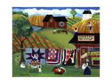 Country Quilts Jam Giclee Print by Cheryl Bartley