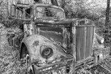 Tow Truck BW Photographic Print by Bob Rouse