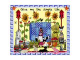 Give me the Simple Life Lang Giclee Print by Cheryl Bartley