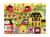 Apples Quilts 4 Sale Impression giclée par Cheryl Bartley