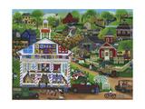 Centennial Quilt Show Giclee Print by Cheryl Bartley