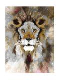 Lion Mix 4-XLIII Giclee Print by Fernando Palma