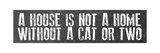 Cat Home Giclée-tryk af Erin Clark