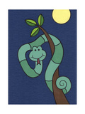 Snake Giclee Print by Denny Driver