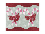Candy Canes Giclee Print by Erin Clark