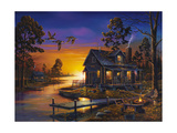 Cozy Retreat Giclee Print by Geno Peoples