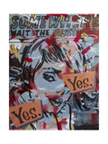 Yes Yes Giclee Print by Dan Monteavaro