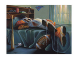 That's My Boy Giclee Print by Geno Peoples