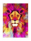 Lion Mix 3-XLII Giclee Print by Fernando Palma