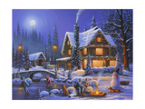 Holiday Spirit Giclee Print by Geno Peoples
