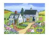 Quilt Barn Giclee Print by Geraldine Aikman