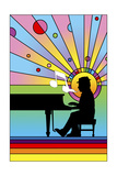 Piano Player 1 Giclee Print by Howie Green