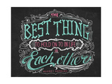 The Best Thing in Life Giclee Print by CJ Hughes