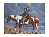 Sioux Country Giclee Print by Geno Peoples