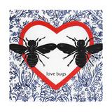 Love Bugs Giclee Print by Gigi Begin