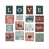 Kjærlighet Giclee-trykk av Erin Clark