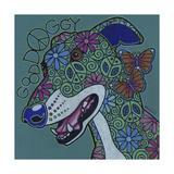 Greyhound 2 Giclee Print by Denny Driver