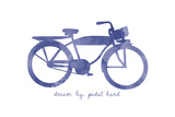 Bike 2 Giclée-tryk af Erin Clark