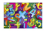 Math Mural Giclee Print by Howie Green