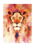 Lion Mix 1-XL Giclee Print by Fernando Palma
