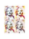Marilyn Monroe 4-XLV Giclee Print by Fernando Palma
