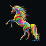 Unicorn Giclee Print by Bob Weer