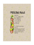 Lime Moscow Mule Giclee Print by Cyndi Lou