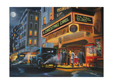 Theater District Giclee Print by Geno Peoples