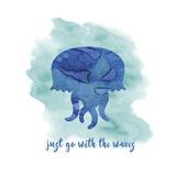 Jellyfish Giclee Print by Erin Clark