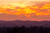 Blazing Sunset Photographic Print by Lance Kuehne