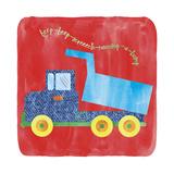 Dump Truck Giclée-tryk af Erin Clark