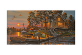 Duck Haven Giclee Print by Geno Peoples