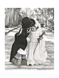 Wedding Kiss Giclee Print by Gail Goodwin