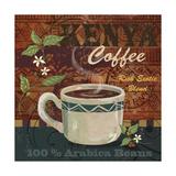 Kenya Coffee Lámina giclée por Fiona Stokes-Gilbert
