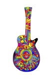 Guitar 02 Giclee Print by Howie Green