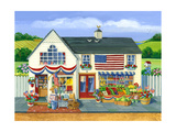4th of July Market Giclee Print by Geraldine Aikman
