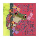 Frog I Giclee Print by Denny Driver