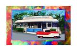 Metropolitan Diner Giclee Print by Howie Green