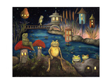 Frogland 1 Giclee Print by Leah Saulnier
