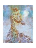 Africa Giraffe Giclee Print by Greg Simanson