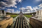 EiffelTr I Fotografisk trykk av Giuseppe Torre