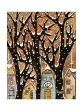 Winter Trees 1 Giclee Print by Karla Gerard