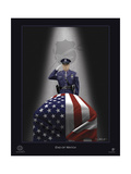 End of Watch Giclee Print by Marc Wolfe
