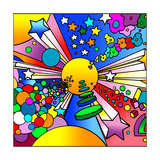 Cosmic Expanding Giclee Print by Howie Green