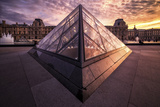Louvre II Photographic Print by Giuseppe Torre