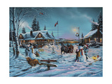 Winter Bliss Giclee Print by Geno Peoples