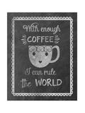 Rule Coffee Giclee Print by Erin Clark