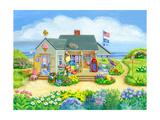 Beach Store Impression giclée par Geraldine Aikman